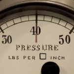Pressure – what do we do when we feel it?
